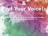 "Workshop-Reihe: ""Explore, Create and Find Your Voice!"""